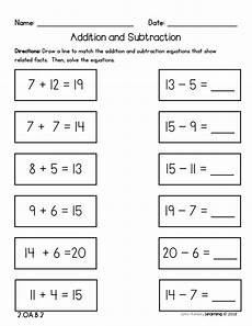adding and subtracting worksheets grade 2 10418 2nd grade addition and subtraction fluency no prep practice worksheets addition subtraction