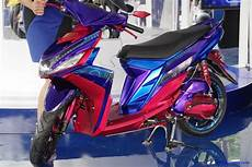 Modifikasi Mio M3 by Foto Modifikasi Motor Yamaha Mio M3 Blue Terbaru