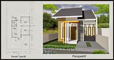 35 Gambar Desain Rumah Minimalis Type 36 72 45 60 Terbaru