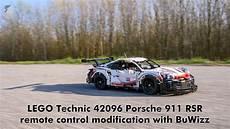 lego technic 42096 porsche 911 rsr buwizz rc mod with