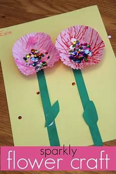 Blume Basteln Kinder - toddler approved baggie painted flowers
