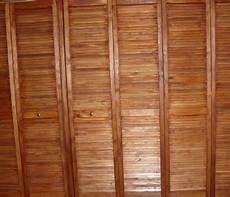 portes de placards en stores en bois style asiatique