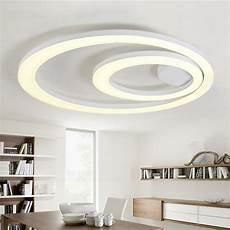 Led Deckenleuchte Esszimmer - white acrylic led ceiling light fixture flush mount l