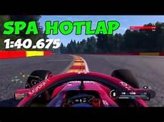 F1 2018 Belgium Hotlap Setup 1 40 675 No Assists