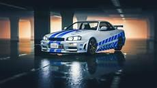 2 Fast 2 Furious Nissan Skyline R34 Livery Gta5 Mods