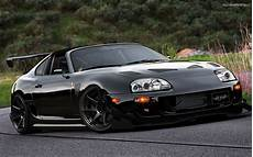 Toyota Supra Wallpaper Black