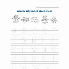winter letter worksheets 20040 winter alphabet tracing worksheet all network