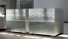 comodini in vetro da letto comodini comodino cubi di ghiaccio da falegnameria 1946