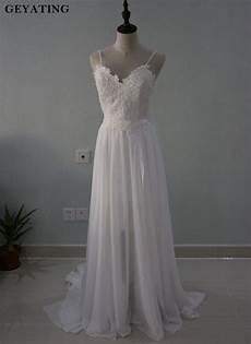 aliexpress com buy sexy backless bohemian wedding dress 2018 spaghetti straps lace appliques