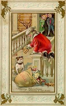 by mimi christmas christmas card art vintage christmas christmas postcard