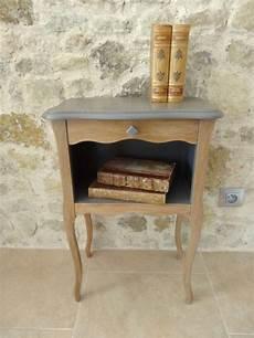 le de chevet en bois petit chevet en bois meubles et rangements par sylvie