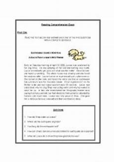 animal reading comprehension worksheets 14286 reading comprehension on animals 7 different activities esl worksheet by lucien
