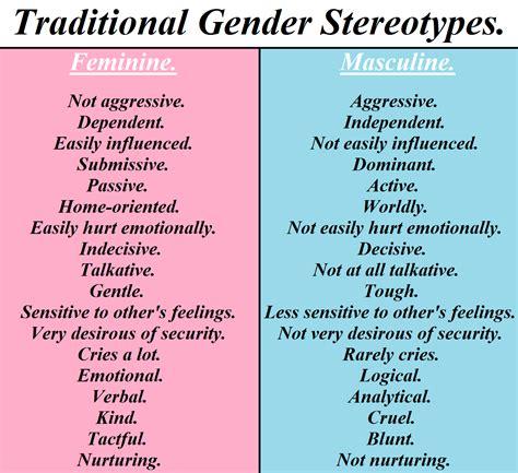 Typical Feminine Traits