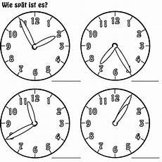 Malvorlage Uhr Lernen Kostenlose Malvorlage Uhrzeit Lernen Arbeitsblatt Nr 4
