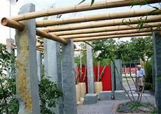 Pergola Aus Bambusrohr