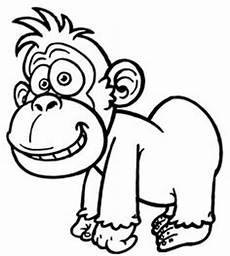 Ausmalbilder Zootiere Zeichnen Gorilla Ausmalbilder Dekoking 4 Ausmalbilder