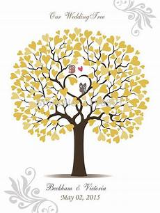 50 70 cm canvas prints wedding thumbprint tree guest book fingerprint tree guestbook alternative