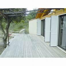 materiel pour terrasse bois kit pour terrasse en bois solsteel vtec