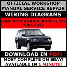 where to buy car manuals 2012 land rover discovery electronic toll collection official workshop service repair manual land rover range rover l322 2002 2012 ebay