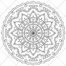 printable mandala coloring page for adults n 3