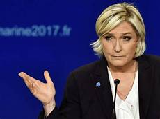 le pen pope asks that states go against their own