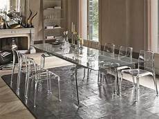 tavoli soggiorno cristallo tavolo allungabile in vetro arredo soggiorno