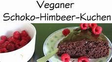 Schoko Himbeer Kuchen - veganer schoko himbeer kuchen