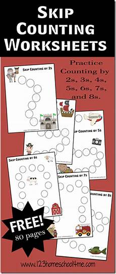 skip counting worksheets for multiplication 11918 free skip counting math worksheets free homeschool deals