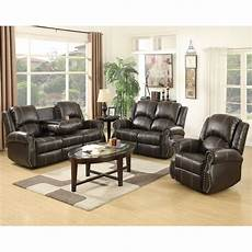 gold thread 3 2 1 sofa set loveseat couch recliner leather