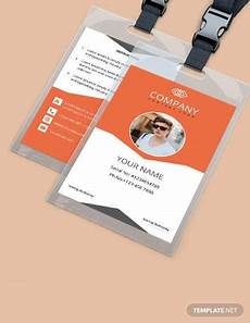 employee id card template ai free free 35 amazing id card templates in illustrator ms