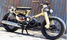 Modifikasi Honda 70 Yg Keren Abis by Gambar Modifikasi Honda C70 Yang Keren Abis