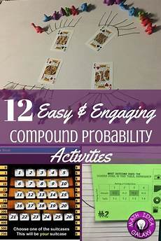 compound probability worksheets 7th grade 6017 12 easy activities for teaching compound probability 7th grade math math lessons