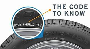 Know Your Tires  St Lucie Battery And Tire