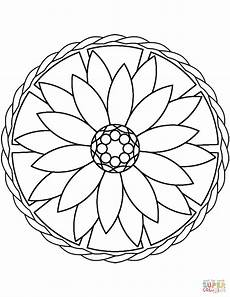 easy mandala drawing at getdrawings free