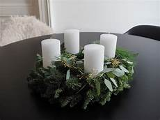 adventskranz tanne eukalyptus kiefer simple adventwreath