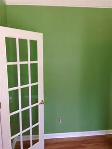 sherwin williams organic green color matched to olympic one paint and primer from low with