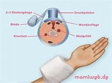 richtig streichen erste hilfe bei druckverband erste hilfe bei starker blutung mamiweb de