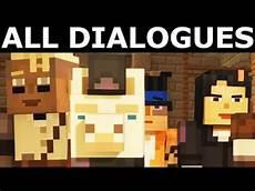 the angry llama minecraft story llama pet all dialogues minecraft story mode season 2