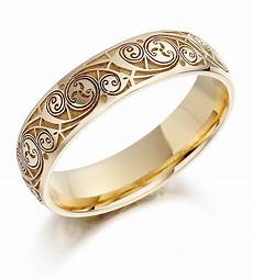 celtic mens wedding ring celtic wedding ring mens gold celtic spiral triskel