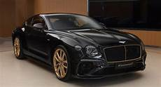 bentley continental gt aurum by mulliner is properly exclusive carscoops