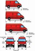 Sprinter Dimensions For Various Models