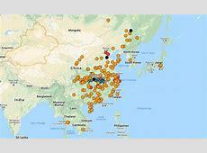 Coronavirus Tracking Map-Us Case Of Coronavirus