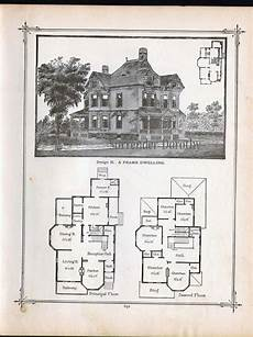 vintage victorian house plans old farmhouse plans 1800s vintage victorian house plans