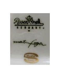 Rosenthal China Date Marks Designer Signature Collect
