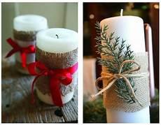 candele fai da te natalizie candele natalizie decorate fai da te