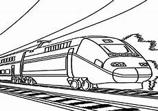 Malvorlagen Zug High Speed Coloring Pages Tripafethna