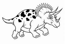 Mewarnai Gambar Dinosaurus Kreasi Warna