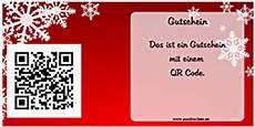 qr code gutschein qr code gutschein ausdrucken vorlagen