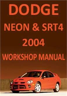book repair manual 1998 plymouth neon navigation system dodge neon srt4 2004 workshop repair manual