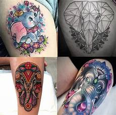 beautiful elephant tattoos and their meaning